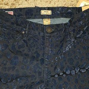 True Religion Halle cheetah print jeans